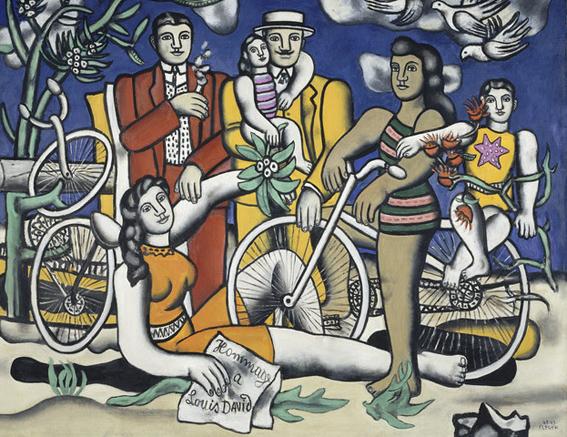 Fernand Léger, pintor de la vida urbana