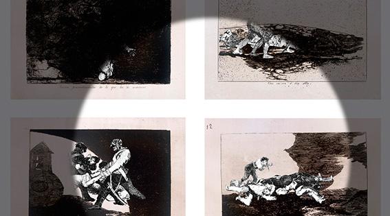 Farideh Lashai reinterpreta la obra de Goya