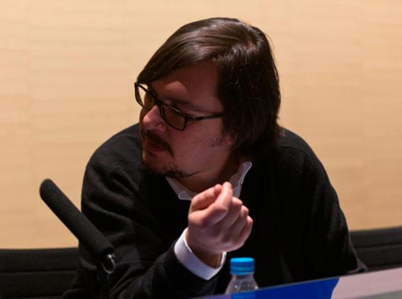 Sergio Rubira, subdirector de Exposiciones