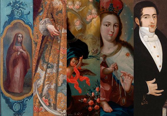 La CPPC dona 119 piezas de arte colonial