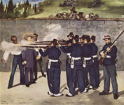 Édouard Manet, L'Exécution de Maximilien, 1867.