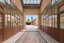 Entrada del nuevo edificio Bombas Gens Centre d'Art. © F. Gómez