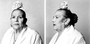 Ana Torralva, Mujer con moño. La Loles de Sacromonte. © Cortesía de MURAM.