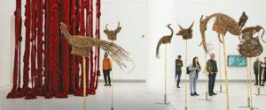 Cecilia Vicuña y Khvay Samnang en Documenta 14