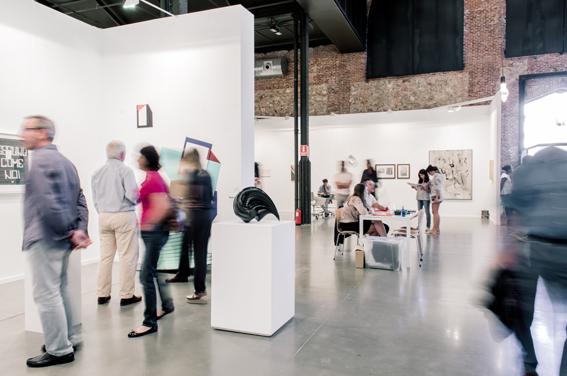 72 galerías en Estampa