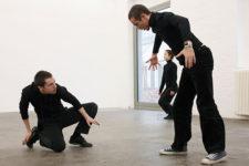 Una exposición coreografiada.© Imágenes cortesía de CA2M