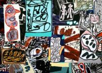 Jean Dubuffet, Les données de l'instant, 1977. © Cortesía Pace Gallery
