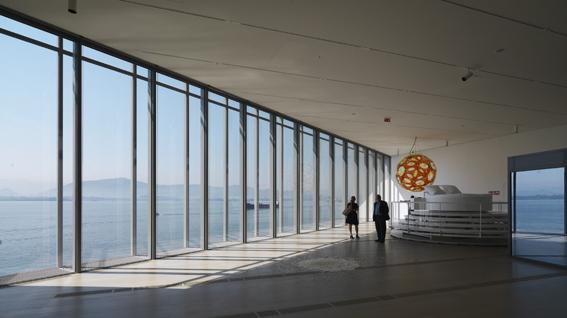 La cristalera, un pulso entre arte y arquitectura