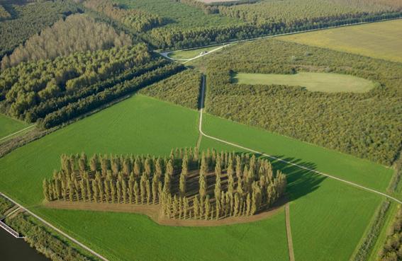 Land Art en Flevoland