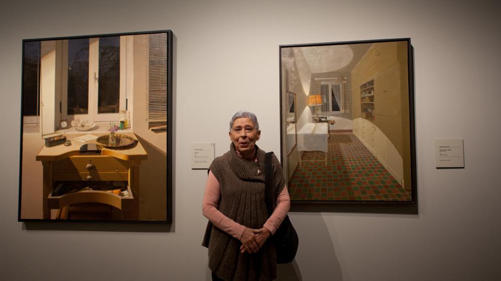 Muere la pintora Isabel Quintanilla