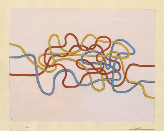 Del textil al grabado en Anni Albers