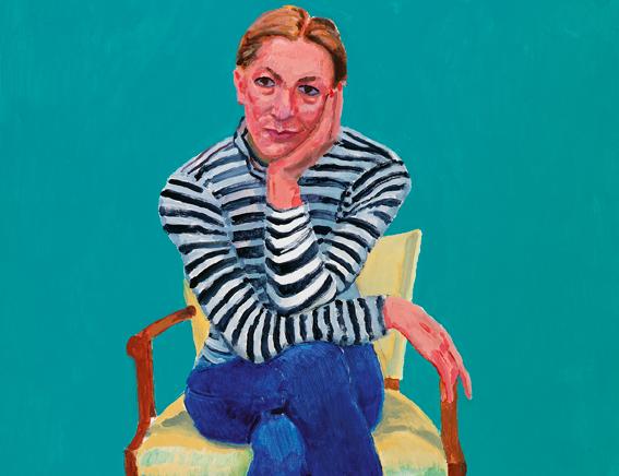 Los retratos de David Hockney
